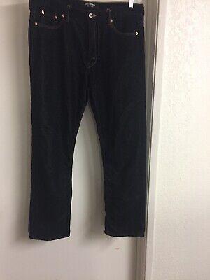junya watanabe comme des garcons Black 5 Pocket Cotton Velvet Pants Sz Medium Velvet 5 Pocket Pants