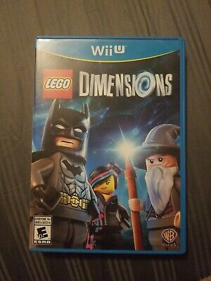 LEGO Dimensions Nintendo Wii U Game Complete  Tested
