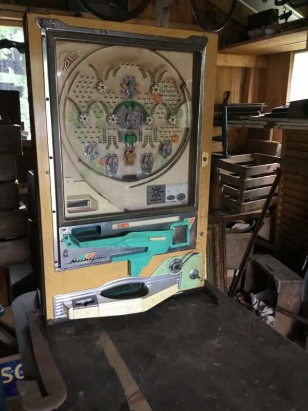 Pachinko Vintage Game 1950s 1960s Japan Japanese Antique Arcade Pinball Old