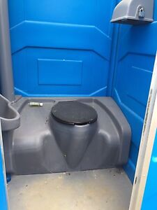 Nearly new Portable toilet with trailer Kingston Kingston Area image 2