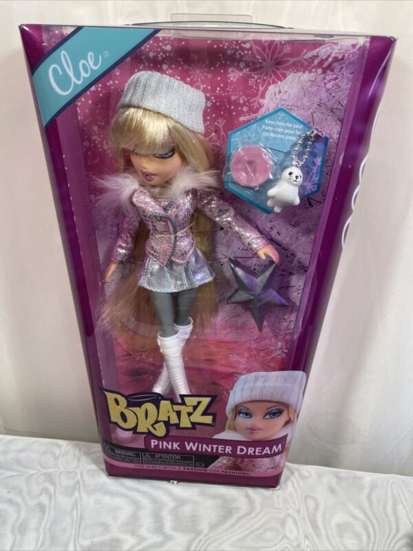 RARE Bratz Cloe Pink Winter Dream Doll NRFB BEAUTIFUL