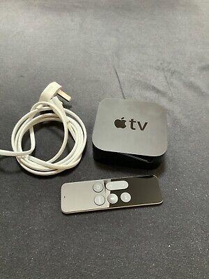 Apple TV 4th Generation 32GB HD Media Streamer (A1625) - Good Condition