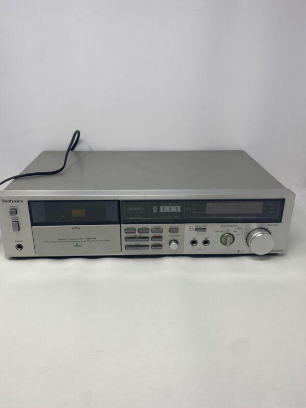 Vintage Technics Stereo Cassette Tape Deck Dbx Model RS-M228X Tested !