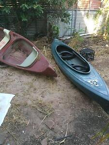 2 old heavy duty plastic canoes Rapid Creek Darwin City Preview