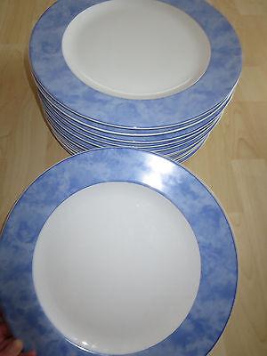 Arzberg 1 Speiseteller Speise Teller Porzellan Blau ca.31 cm Top Zustand