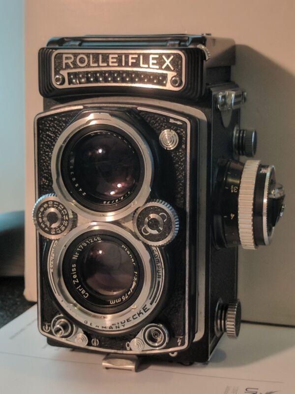 CLA service For Rolleiflex 3.5 E TLR film cameras