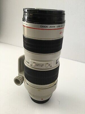 Canon Zoom Lens Ultrasonic EF 70-200mm 1:2.8 L