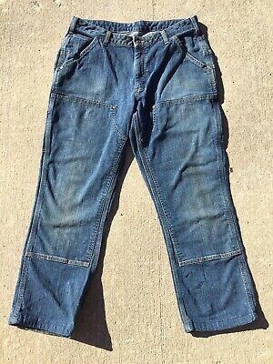 Carhartt Dungaree Fit Carpenter Work Jeans 10x30 Womens 10 Carhartt Womens Work Jeans