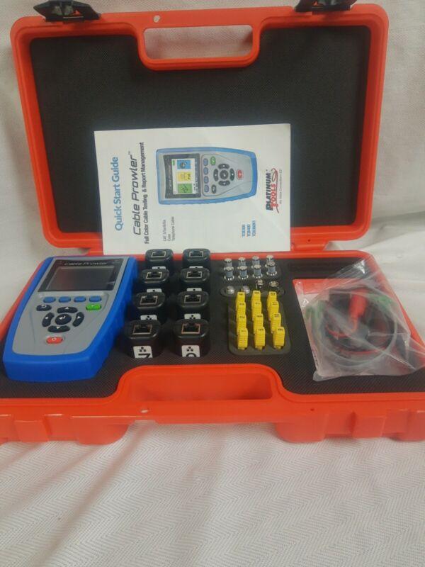 Cable Prowler PRO KIT TCB360K1 linkrunner Lan toner tracer tester remote TDR...