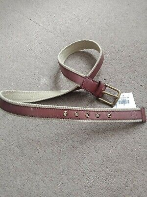 ABERCROMBIE AND FITCH MENS BELT LIMITED EDITION SIZE 34 BROWN COLOUR