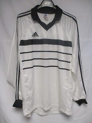Maillot ADIDAS vintage 1998 blanc style SCO ANGERS manches longues shirt L/S XL image