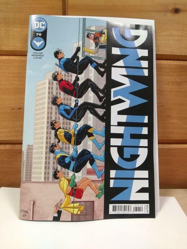NIGHTWING 79 Heartless 2021 whoa walk up walls Batgirl NM variant 2nd printing