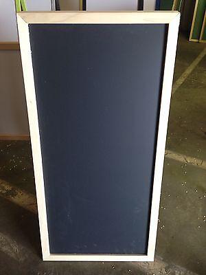 Sidewalk Display Black Chalkboard Natural Hardwood Frame 24 X 48