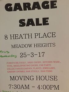 Garage sale today 7:30 to 6:00 Attwood Hume Area Preview