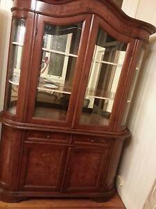 French Louis Glass Buffet dresser cabinet hutch cabinet TOP Brisbane City Brisbane North West Preview