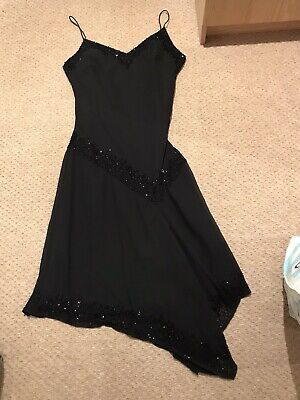 Gorgeous J Kara New York Black Cocktail Style Dress -With Sequin Detail- Size 10