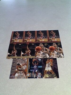Jamie Watson       Lot Of 24 Cards     9 Different   Basketball