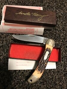 Schrade cutlery, Uncle HENRY folding pocket knife PRICE REDUCED