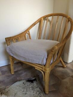 2 x CANE ARM CHAIRS Northbridge Willoughby Area Preview