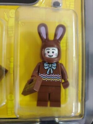 Lego Chocolate Bunny  Easter Bunny Rabbit Brown Minifigure 2020 Store Exclusive