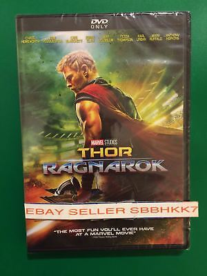Thor  Ragnarok  Dvd  2018          Authentic Read        Brand New Free Shipping