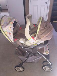 Graco car seat + stroller