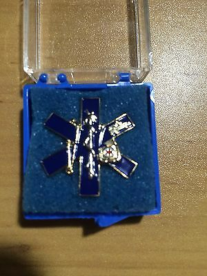 EMS - Star of Life Pin - Gift Boxed
