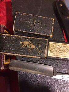 Straight razor and  Haarscheide machine trimmer  1910