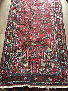 Persian hand knotted runner