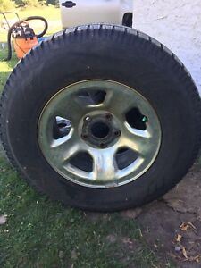 Toto 17 winter tires on rims