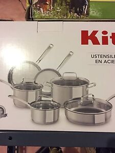 Kitchen aid pots and pans BRAND NEW
