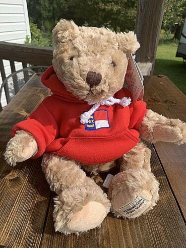 "Herrington 13"" Sweatshirt Teddy Bear NC American Travel Collection w/ Tags"