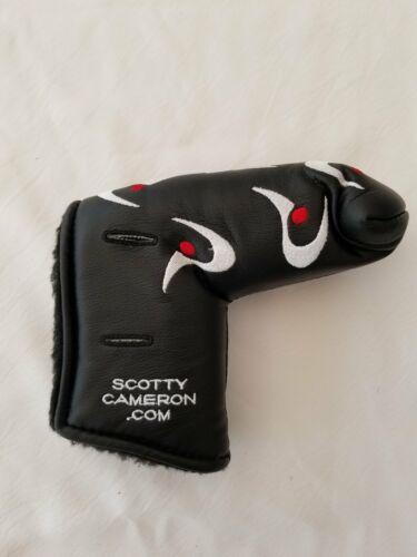 Scotty Cameron Black  TPI Putter Cover no Divot Tool - Rare
