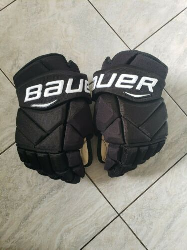 Ivan Provorov game used Bauer 1x rookie hockey gloves