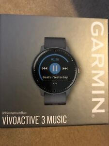 Sell blue/ rose gold Garmin watch