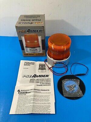 New Pse Amber Flash Series Starflash Iv Strobe Beacon Warning Light Ll400iash