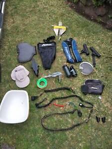 Assorted Hobie/kayak/fishing gear