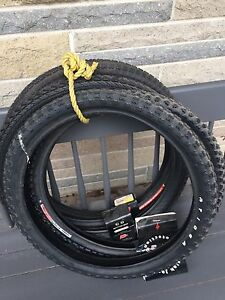 Bmx tires 3 are brand new 20 x 2.10...1.80...2.125
