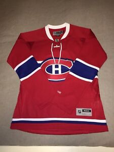 Official Reebok Canadians  Jersey . Brand New / Never Worn!!