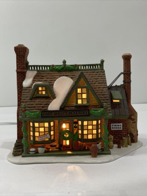 Dept 56 New England Village - East Willet Pottery