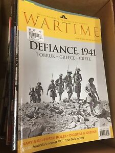 Wartime magazines volumes  1-54 96-2011 Dalkeith Nedlands Area Preview