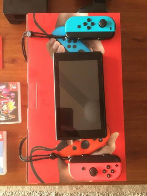 Nintendo Switch Console Animal Crossing And Yu Gi Oh Other