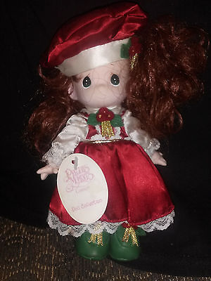 PRECIOUS MOMENTS Holiday Christmas Collectible Doll