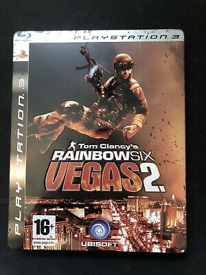 Tom Clancy's Rainbow Six Vegas 2 Steelbook Collectors edition PS3 Game for sale  Shipping to Nigeria