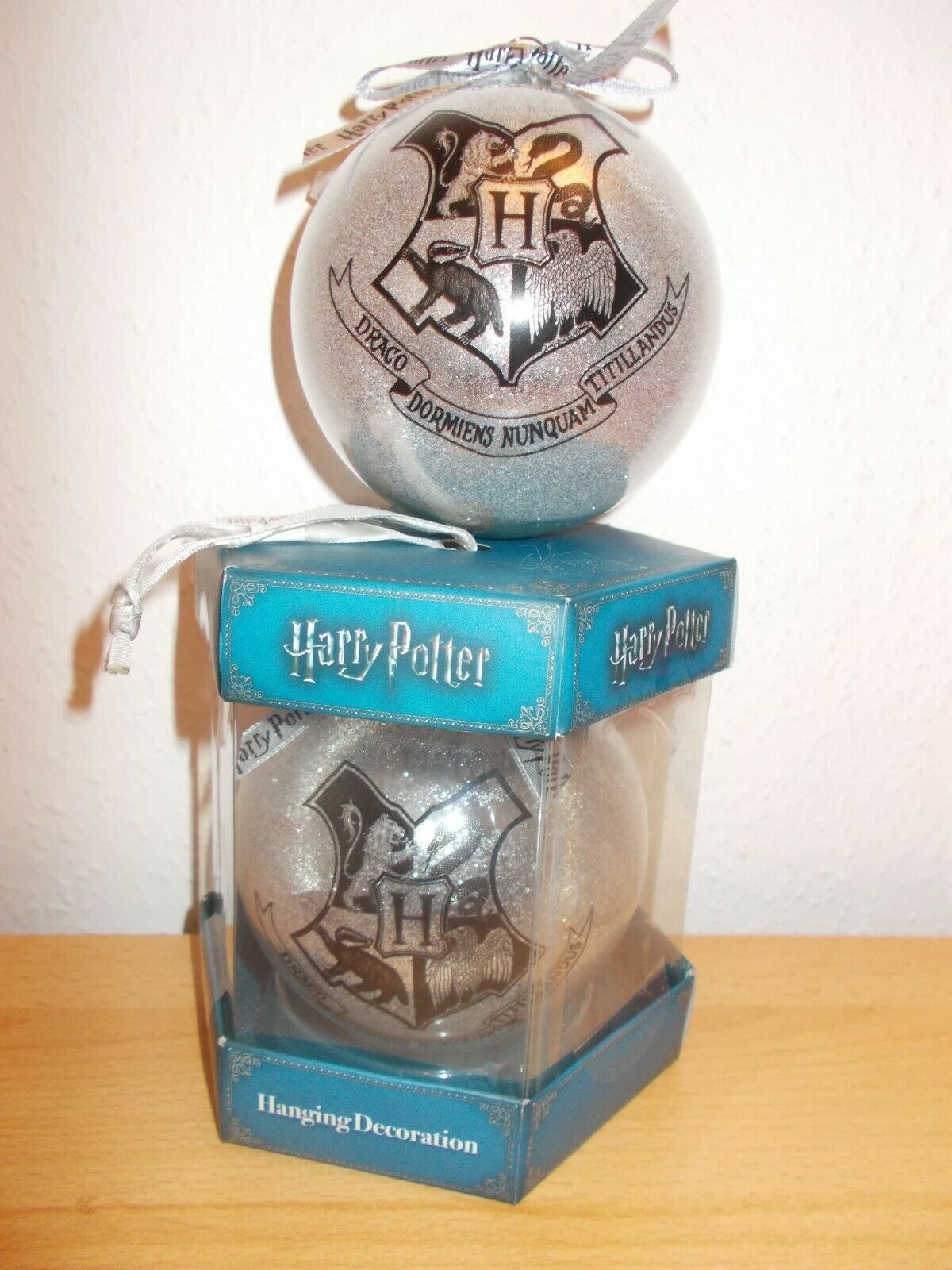 Harry Potter Weihnachtskugel Dekoration Hogwarts Christbaum Schmuck Kugel