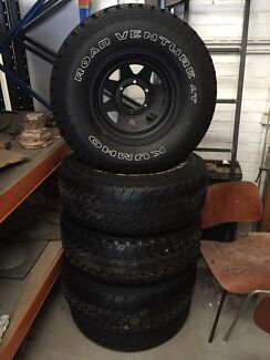 """15"""" Sunraysia with Kumho Road Venture AT 31"""" tyres Sydenham Marrickville Area Preview"""