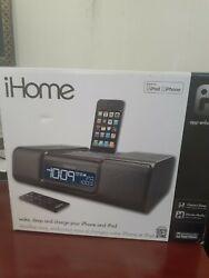 iHome Model iA9 Dual Alarm Clock Radio iPod Docking Station