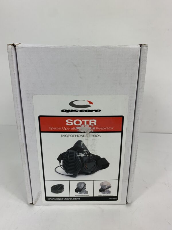 Gentex Ops-Core SOTR Special Operations Tactical Respirator w/ Microphone NEW