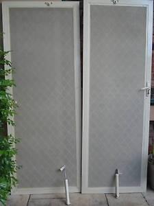 2 Beige Security Screen Doors in perfect working order Homebush Strathfield Area Preview