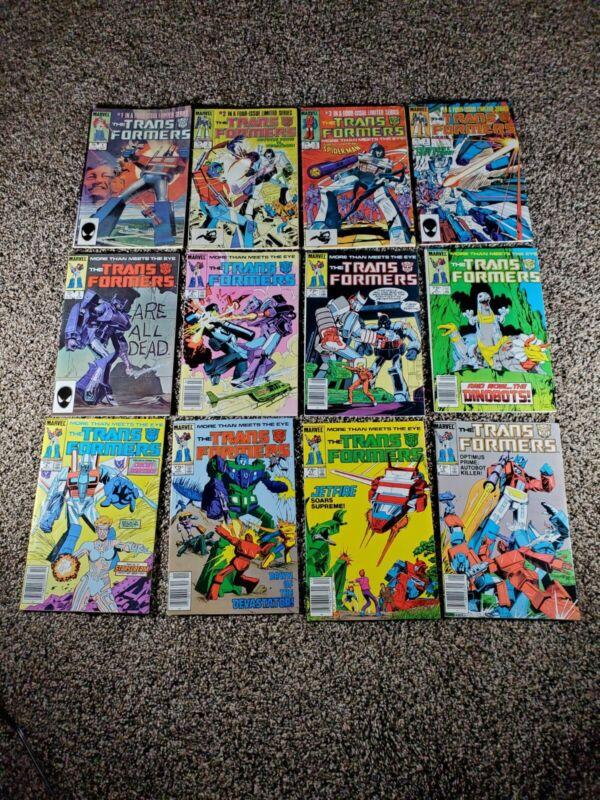 1984 MARVEL COMICS VOL 1 TRANSFORMERS #s 1-26!!